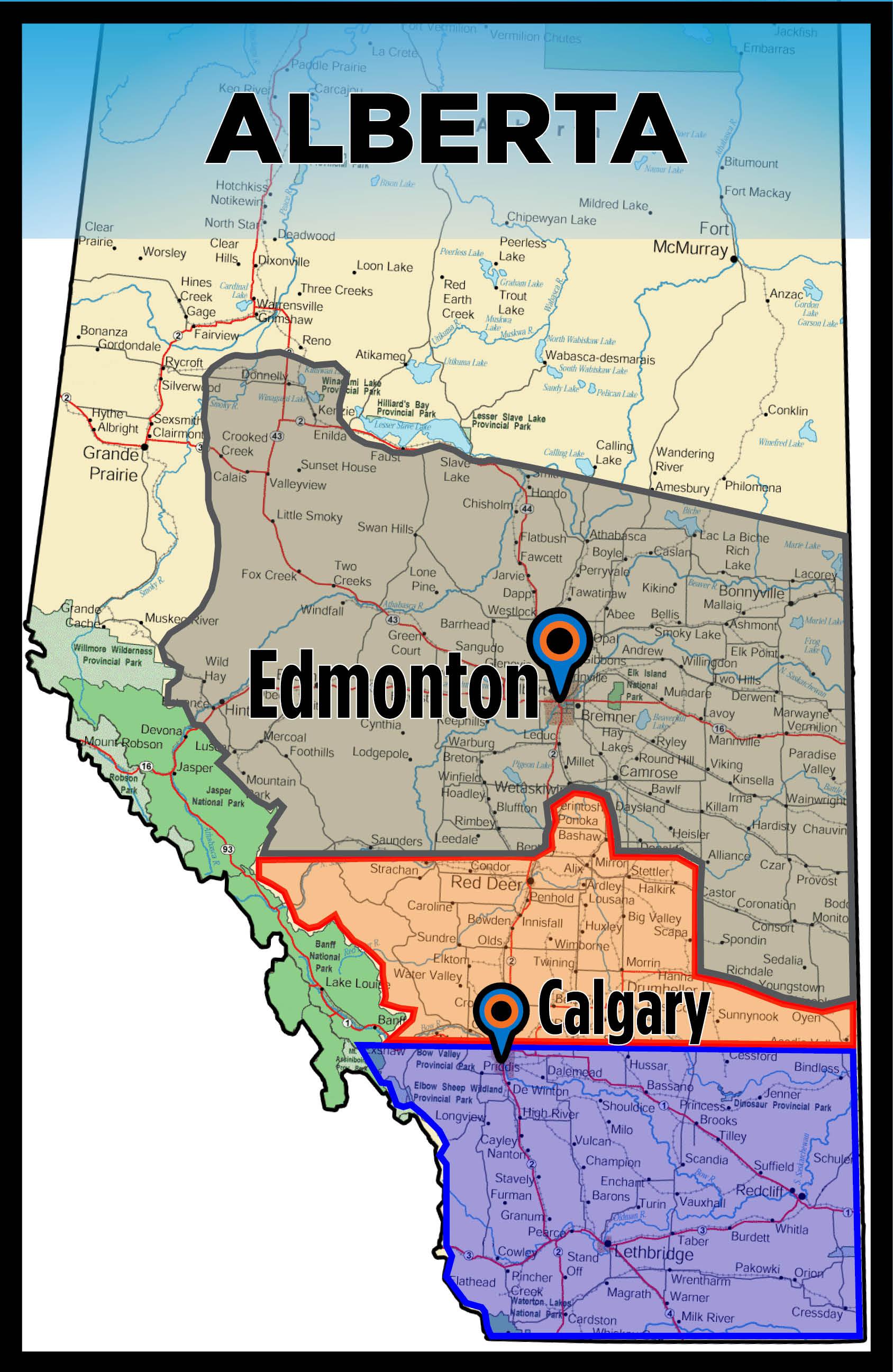 Alberta Map Sales Rep